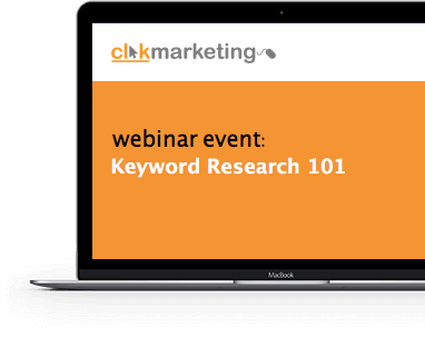 Keyword Research Webinar